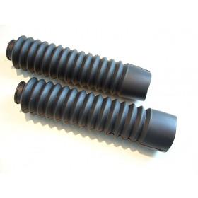 Paire de soufflets de fourche Tubes 28 à 32 mm long 25cm