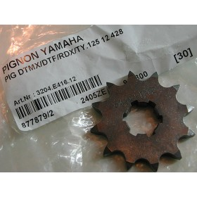 Yamaha TY 125 & 175 bi-amortisseurs pignon 12 dents (428)