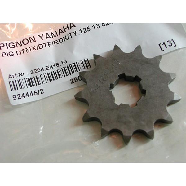 Yamaha TY125 & 175 bi-amortisseurs pignon 13 dents (428)