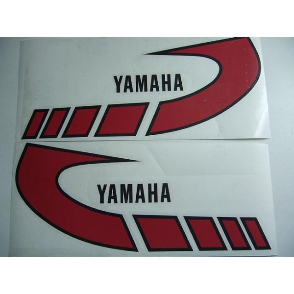Yamaha Type 1K6 ( 1977 to 1979)  red tank decals set