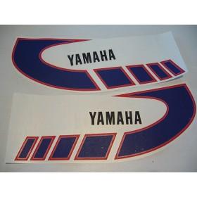 Yamaha Type 1K6 ( 1977 à 1979 ) déco de réservoir bleue