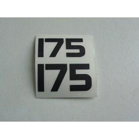 Yamaha Type 175 déco latérale gauche et droit
