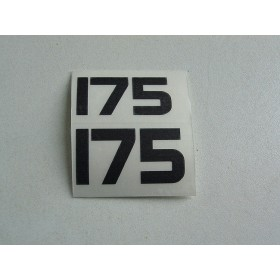 Yamaha Type 175 side stickers right & left