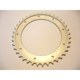 Bultaco Aluminium rear sprocket 39T link size 520, int diameter 140mm