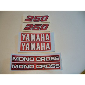 Yamaha Type monoshok 59N decal set