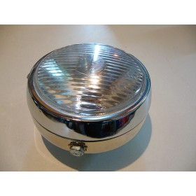 Vintage style front light with switch button ( Diam 13cm )
