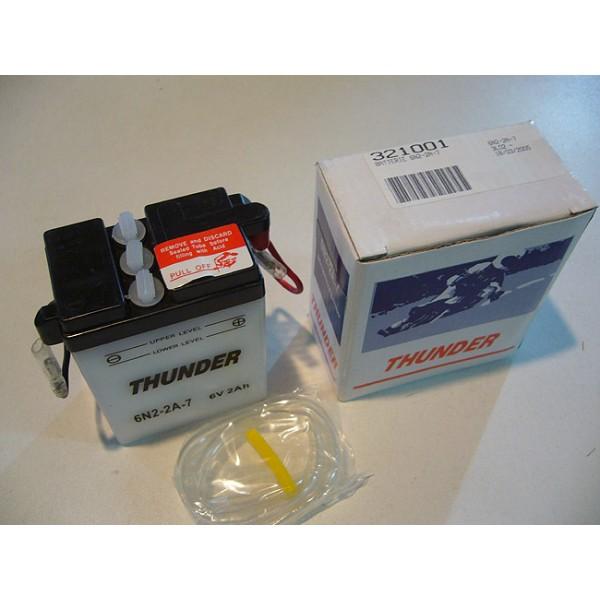 YAMAHA TY 250 monoschock ( 59N...) battery