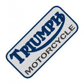 TRIUMPH embroidered patch 10X4.5 cm