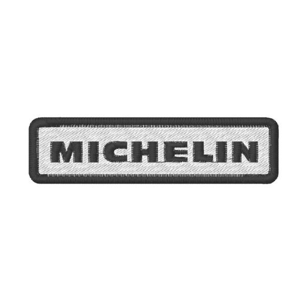 Ecusson brodé MICHELIN 10X2.6 cm
