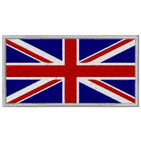 Union Jack flag embroidered patch 8X5.5 cm