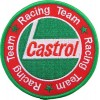 CASTROL racing embroidered patch diameter 9 cm