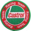 Ecusson brodé Team CASTROL Racing diametre 9 cm