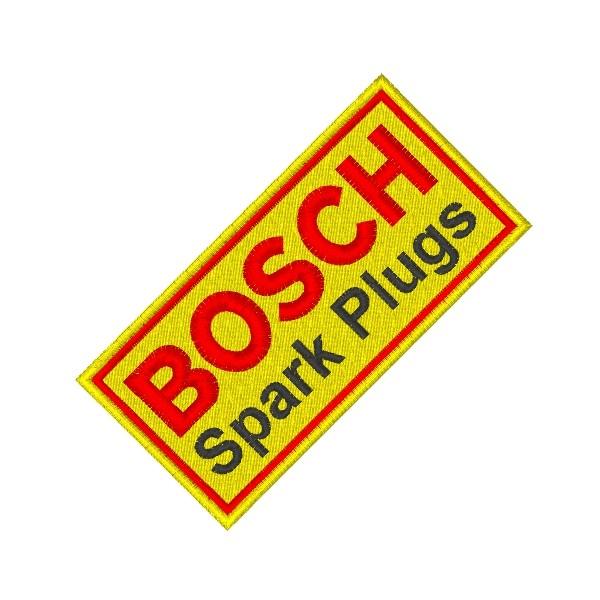 Ecusson brodé BOSH 9X4.5 cm