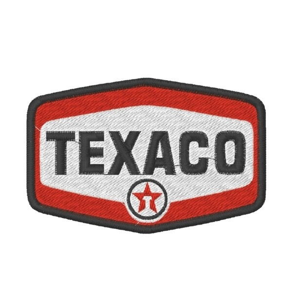TEXACO embroidered patch 9X6 cm