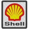 SHELL embroidered patch 11X8 cm