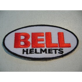 BELL embroidered patch 7.5 X 3.7 cm