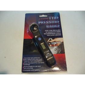 Manomètre digital pression des pneus de poche