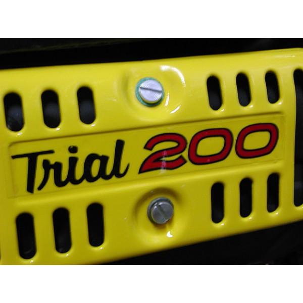 Yamaha Majesty heat shield or side panel sticker TY200