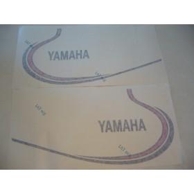 Yamaha Type 1K6 ( 1980 à 1983 ) déco de réservoir