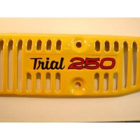 Yamaha & Majesty autocollant de grille de pot ou cache latéral TY250