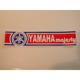 Yamaha Majesty autocollant de bras de fourche 18X4 cm
