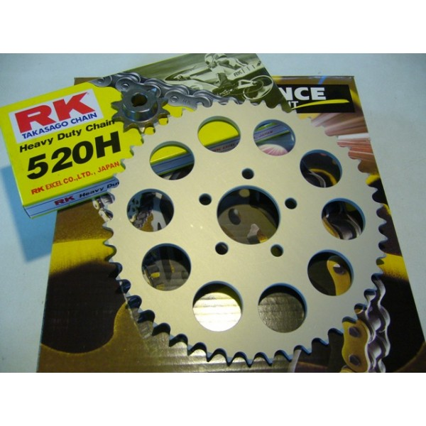 Montesa 247 chain kit 10X48 T, link size 520