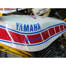 Yamaha Majesty paire de stickers réservoir
