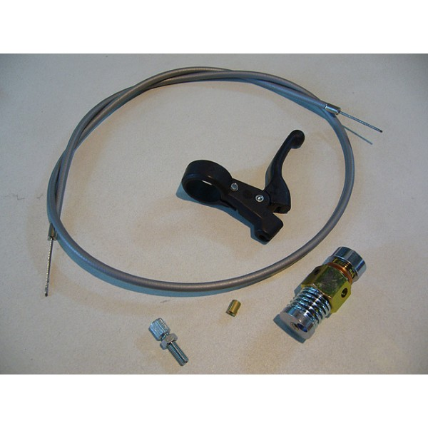 Decompressor kit with grey cable