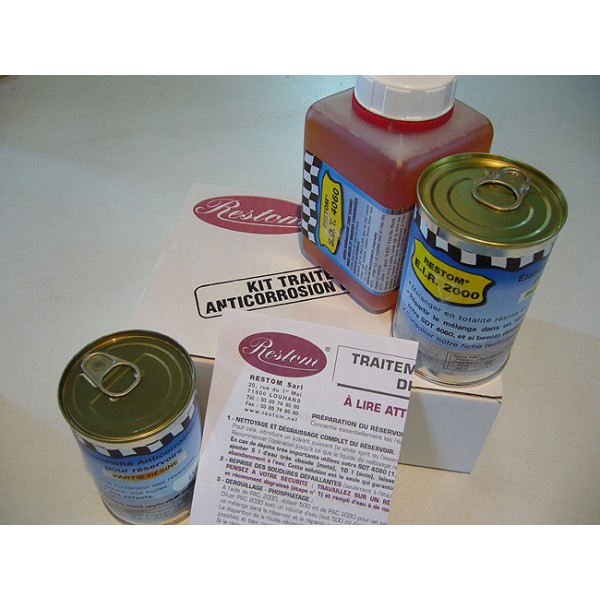 Poly tank restoration kit for up to 15 liters tanks