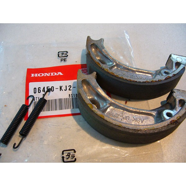 HONDA TLR 125 à 200 Garnitures de freins 95mm