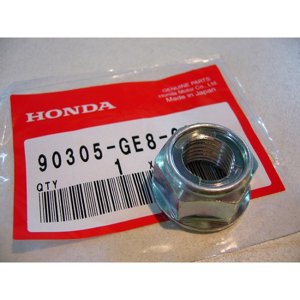 HONDA TLR 125 to 250  Rear wheel axle bolt
