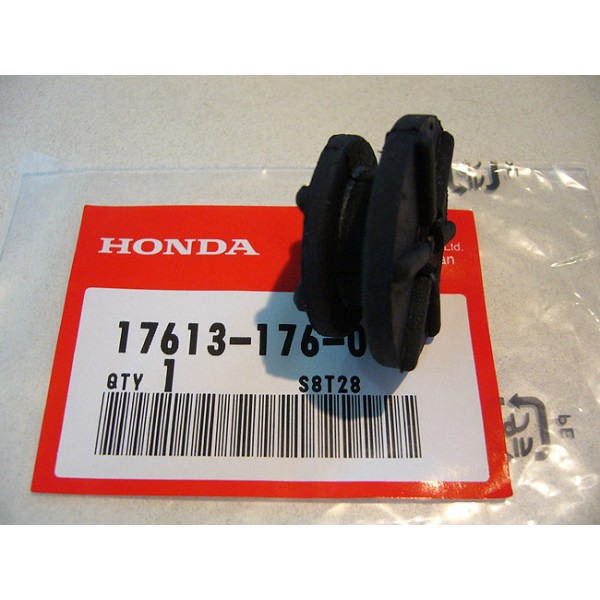 HONDA 125 to 200 TLR Rear tank bumper
