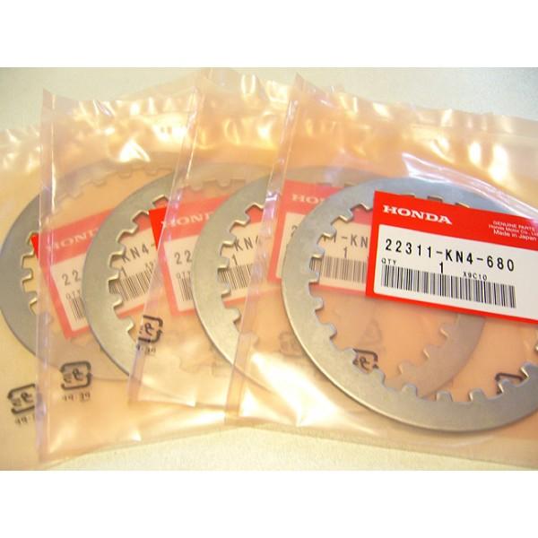 HONDA  125 TLR ou TLS, 200TLR , 250TLR Jeu de disques lisses