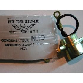 Condensateur N10 en remplacement de Novi