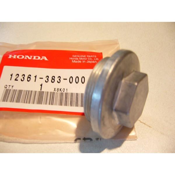 HONDA 125 TLS et TLR 200 to 250  Drain plug and valve rocker cap