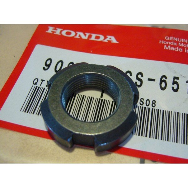 HONDA TLR 125 to  250  Oil filter rotor nut