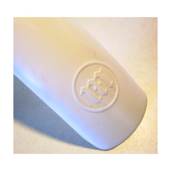 MONTESA Cota garde-boue avant blanc avec logo incrusté