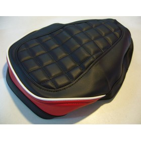 Yamaha TY125 & 175 black & red seat cover