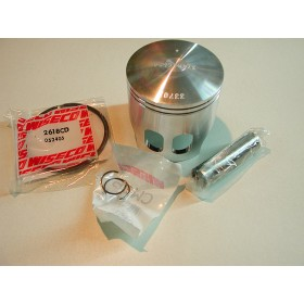 Yamaha 175 piston kit with clips, pin & rings diam 66.5mm