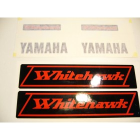 Yamaha Whitehawk decals set