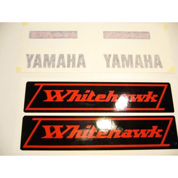 Yamaha Whitehawk  decals set