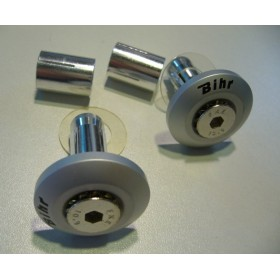 Embout de guidon (paire) aluminium anodisé Aluminium