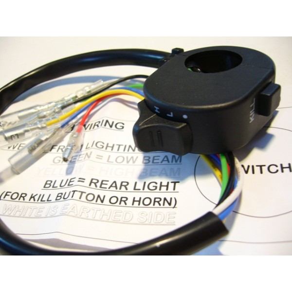 Light (Hi & Low) and engine switch