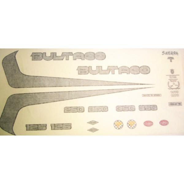 Bultaco Decal set type 158 to 191