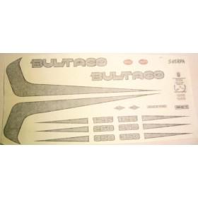 Bultaco Ensemble complet de décoration Type 198 et 199
