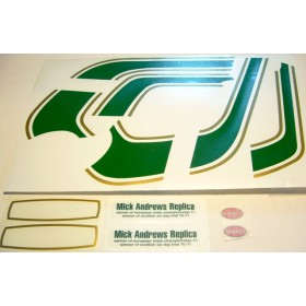 Ossa MAR 250 complet decals set