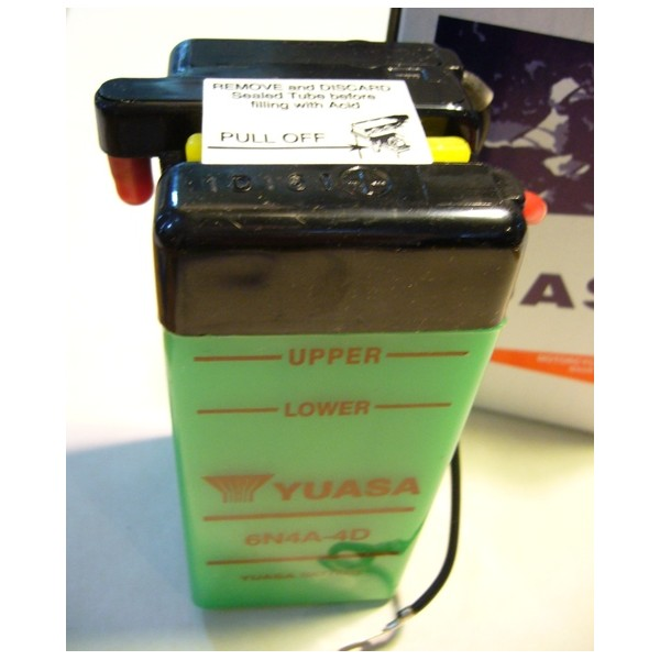 YAMAHA TY 50  monoschock  battery