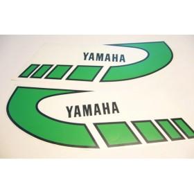 Yamaha Type 1K6 ( 1977 à 1979 ) déco de réservoir verte