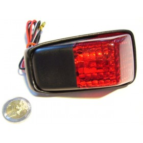 Rear light 12V with rear brake light