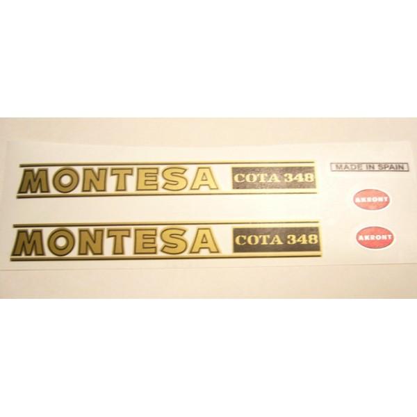 Ensemble Montesa Cota 348 déco